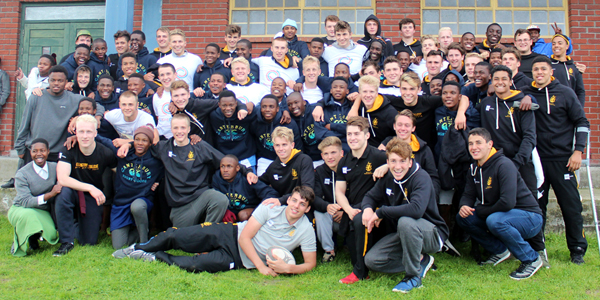 Canterbury, In Kind Direct and Wellington College team up to donate rugby kit in South African township