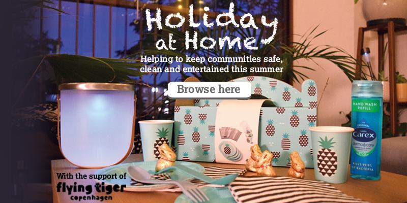 Holiday at Home Banner