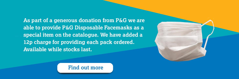 P&G facemasks