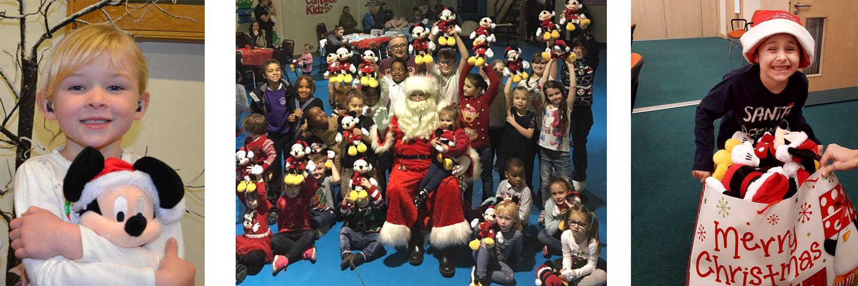 Disney Christmas donation 2016
